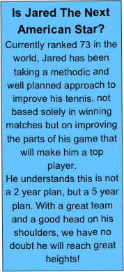 Is Jared The Next American Star?